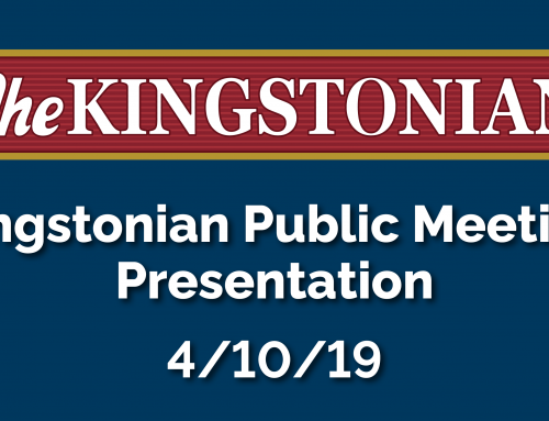 View The Presentation From The April 10 Public Hearing