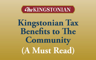 Kingstonian Tax Benefits to The Community