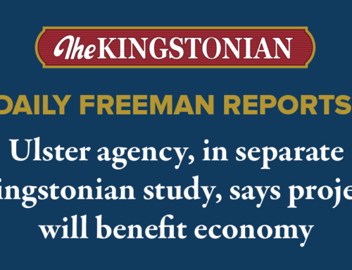 Ulster agency, in separate Kingstonian study, says project will benefit economy