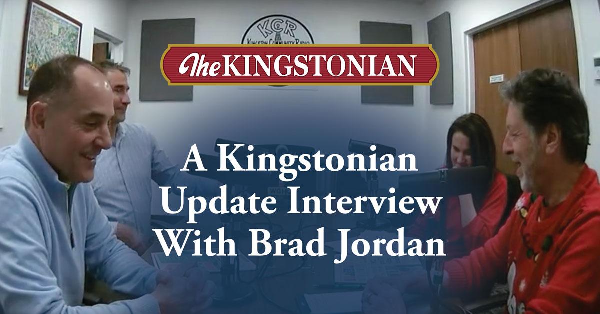 A Kingstonian Update Interview With Brad Jordan