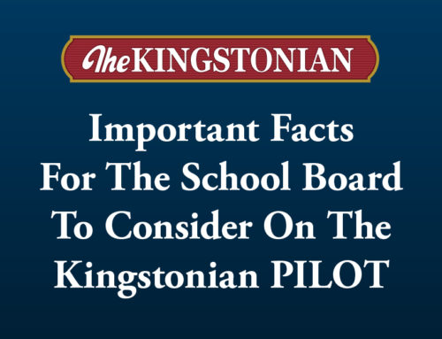 Important Facts  For The School Board To Consider On The Kingstonian PILOT